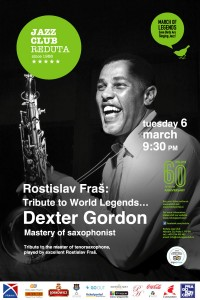 Tribute To World Legends… Dexter Gordon